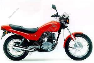 CB250R ESPANA 1994 CB 250 TWO FIFTY