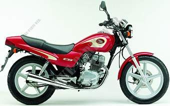 CB2501 CB 250 TWO FIFTY ESPANA 2001