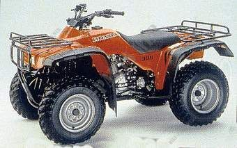 TRX300FWX FOURTRAX 300 4X4 FRANCE 1999
