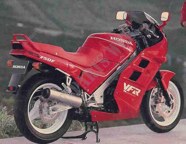 vfr750fj rc24 honda motos vfr 750 750 1988 espana. Black Bedroom Furniture Sets. Home Design Ideas