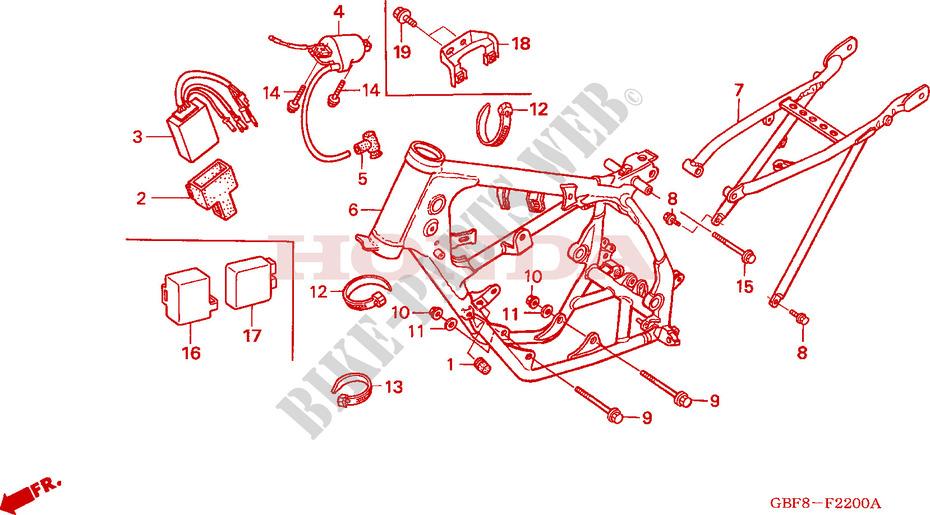 Bobina de encendido Honda CR 85 2004 85 Cc