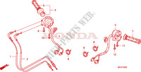 INTERRUPTOR/CABLE para Honda CBF 1000 ABS 2008