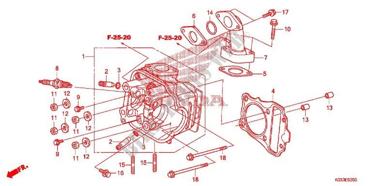 honda 110 parts diagram  wiring diagrams page croprelated