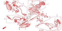INTERMITENTE (2) para Honda CBR 1000 RR ABS RED 2009