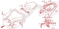 ASIENTO SIMPLE(2) para Honda CBR 1000 RR ABS 2010